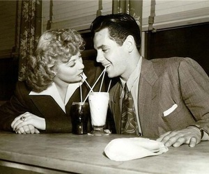 Lucille Ball, couple, and desi arnaz image