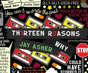 13 reasons why, wallpaper, and hannah baker image