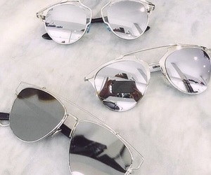 dior, sunglasses, and for girls image