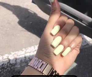 acrylic, nails, and simple image
