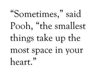 quotes, heart, and pooh image