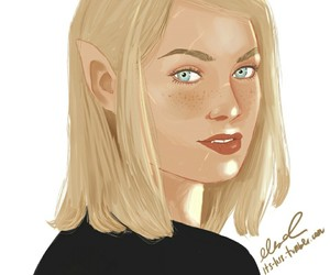 fanart, throne of glass, and aelin image