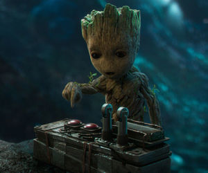 Marvel, movie, and groot image
