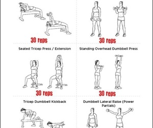 fitness, workout, and healthy life image