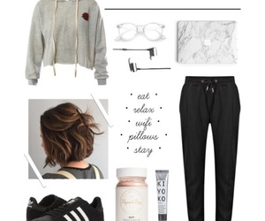 chill, outfit, and Polyvore image