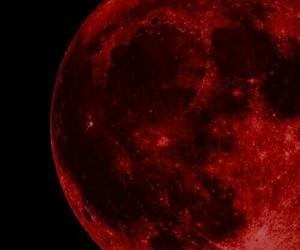 aesthetic, grunge, and moon image