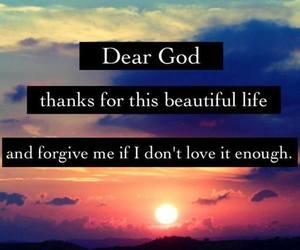 god, life, and love image