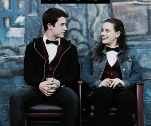 couple, clay jensen, and love image