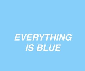 blue, colors, and quotes image