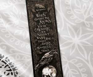 book, bookmark, and leigh bardugo image