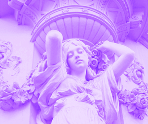 aesthetic, white, and statue image