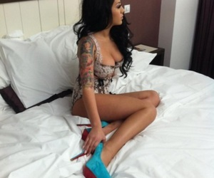 bitch, body, and high heels image