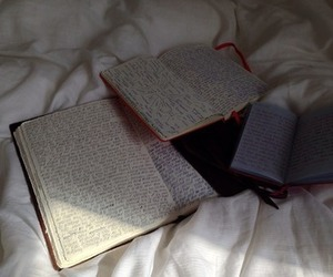 book, diary, and journal image