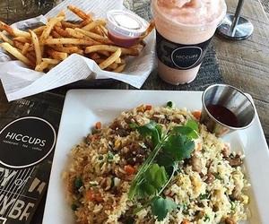 california, rice, and food image