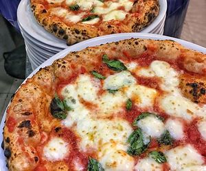 food, pizza, and italian image