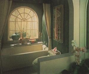 bathroom, eighties, and vintage image