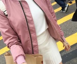 bomber, fashion, and jacket image