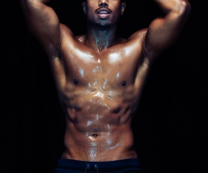 sexy and michael b jordan image
