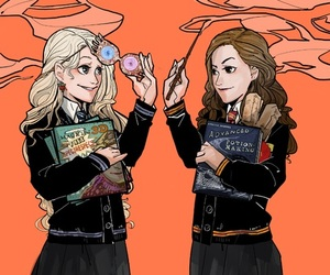 hermione granger and luna lovegood image