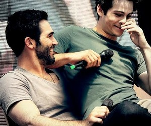 teen wolf, tyler hoechlin, and sterek image