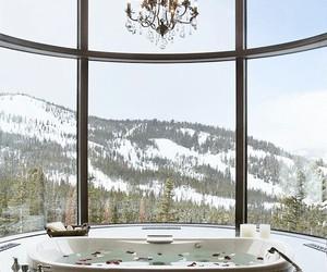 bathroom, sea, and beautiful image