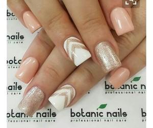 nails, pink, and shine image