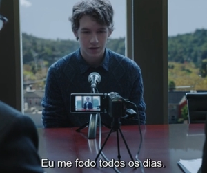 13 reasons why, tv serie, and devin druid image