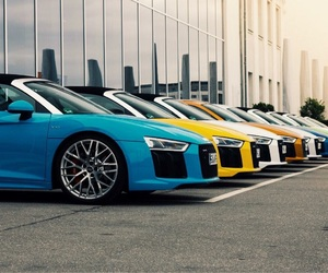 audi, cars, and love image