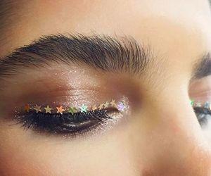 eyes, fashion, and beauty image