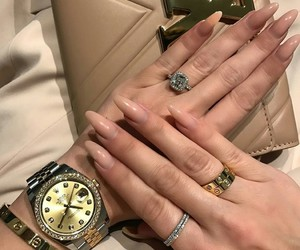 nails, luxury, and style image