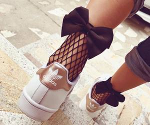adidas, girls, and style image