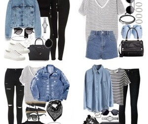 denim, denin, and outfits image