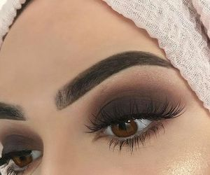 arabic, girl, and eyes image