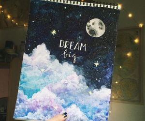 art, Dream, and stars image