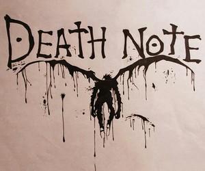 ryuk, death note, and shinigami image