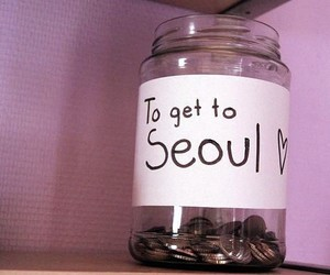 seoul, korea, and money image