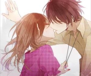 kiss and anime image