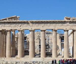 architecture, Greece, and Temple image