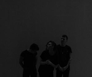 pvris, lynn gunn, and alex babinski image
