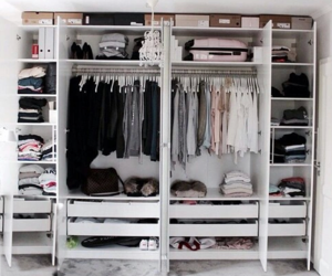 closet, goals, and wardrobe image