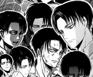 attack on titan, shingeki no kyojin, and levi image
