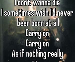 broken, give up, and Lyrics image