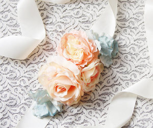 etsy, flower girl, and rustic wedding image