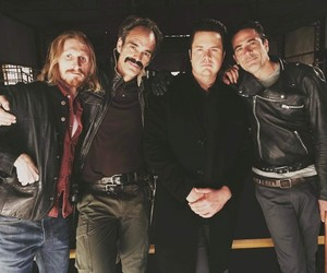 the walking dead, dwight, and negan image