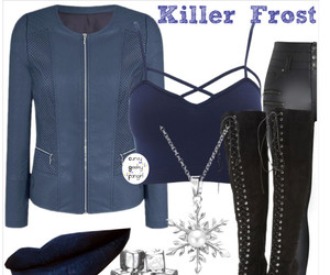 flash, plus size, and killer frost image