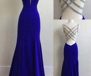 dress, blue, and girls image
