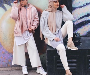 fashion, lovely, and hijabis image
