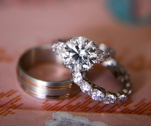 bling, diamond ring, and jewelry image