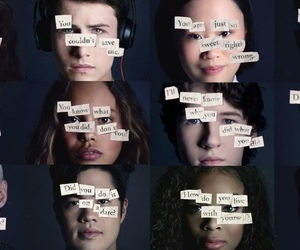 thirteen reasons why, dylan minnette, and hanna baker image