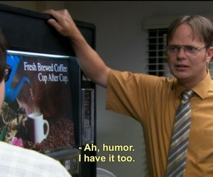 the office, funny, and humor image